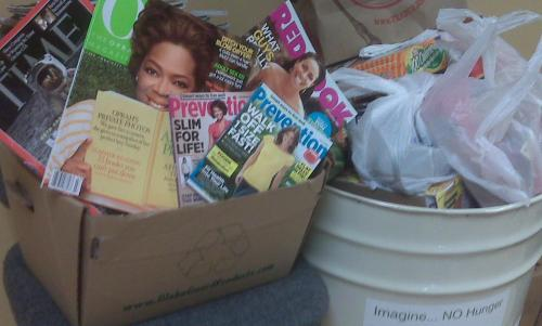 Food and Magazine Drive